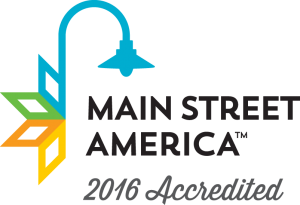Main Street Accreditation Graphic