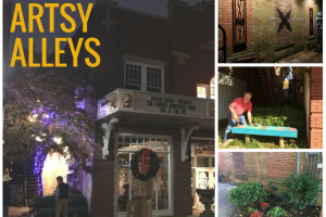 explore our artsy alleys in historic downtown wilson