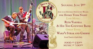 Honky Tonk Night at 217 Brew Works