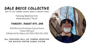 Boykin Summer series with Dale Bryce