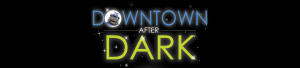 Downtown after Dark logo with Barton College