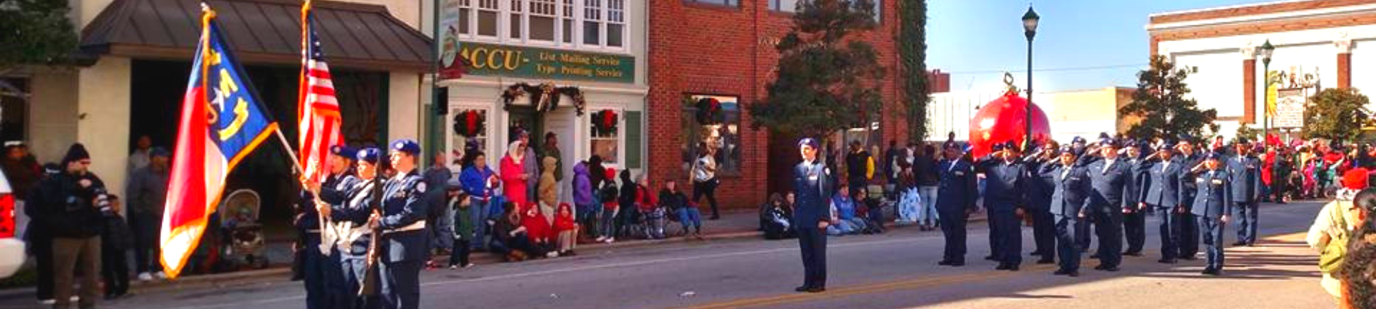 Historic Downtown Wilson Christmas Parade