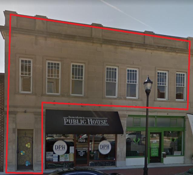 113-115 Goldsboro Street S (Upper Floor)
