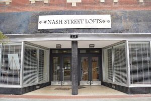 Front of the Nash Street Lofts